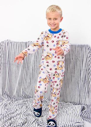 Пижама для мальчика (теплая