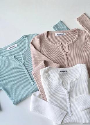 Кофта свитер светер водолазка гольф рубчик реглан лонгслив