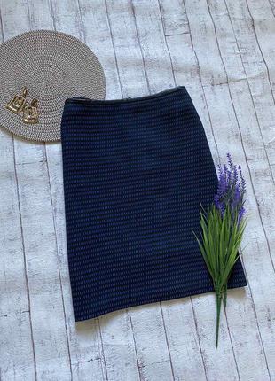 Теплая осенняя юбка