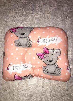 Ортопедична подушка для новонародженного