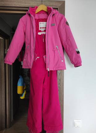Зимние куртка и комбинезон на рост 128 -134 см.