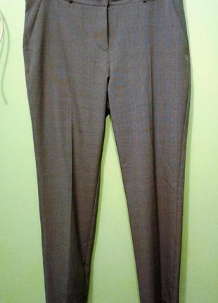 Классические женские зауженные брюки 14, 16 размер