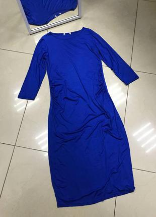 🆘🔥последняя цена до 15 октября 🆘🔥 новое синее платьедо колен для беременных на животик
