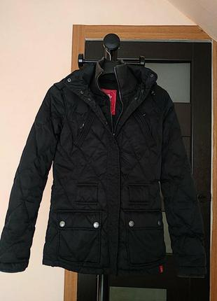 Стёганый куртка, пуховик, 50%пух+50%перо, razmer/ м, esprit edc