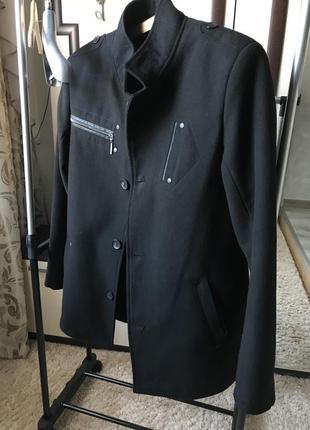 Мужское тёплое пальто