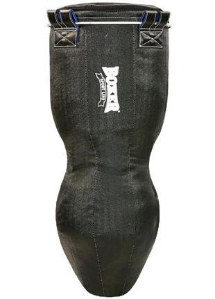 Код: 016291 мешок боксерский boxer, кирза 120см 1024-01 (черный)/ 535
