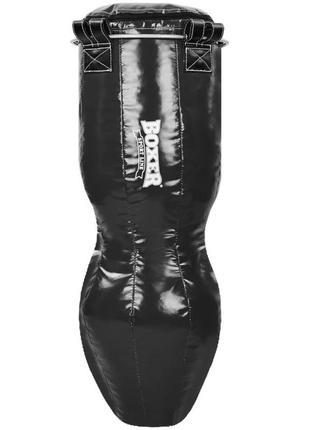 Код: 016292 мешок боксерский boxer, силуэт кожа, 120см 1023-01 (черный)/ 536