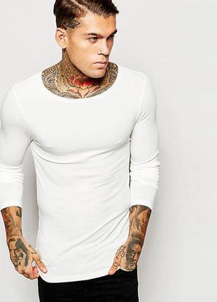 🆘🔥последняя цена до 15 октября 🆘🔥  новый белый мужской джемпер с вырезом