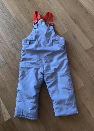 Балонові зимові утеплені штани