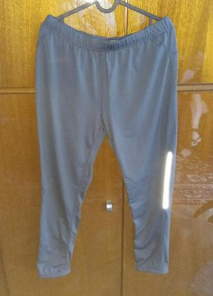 Спортивные штаны серые. размер m/l
