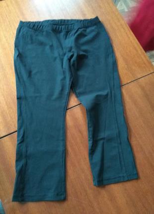 Спортивные штаны  укороченные casall. размер l