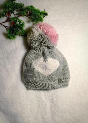 Шапка / шапочка для дівчинки