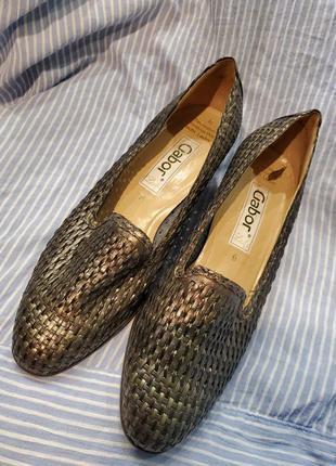 Туфли новые gabor. 39-40.