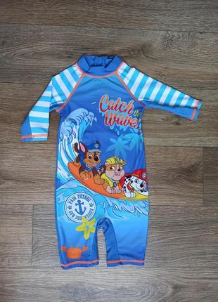 Суцільний купальний костюм. купальник