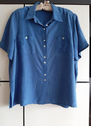 Шелковая рубашка biaggini