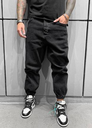 Черные недорогие мужские джинсы черные