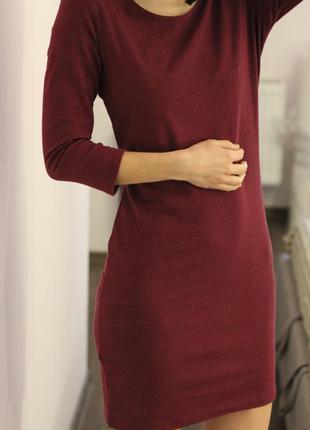 Платье с вырезом на спине, с этикеткой
