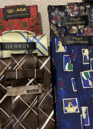 George marks&spenser aga набор галстуков винтаж.