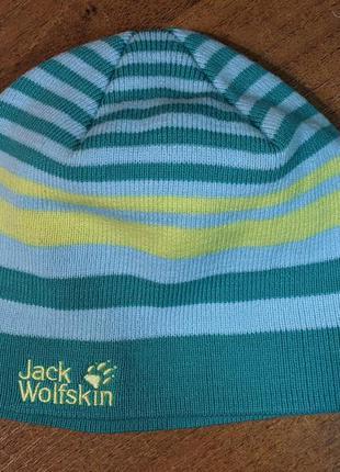 Шапка jack wolfskin cross knit cap