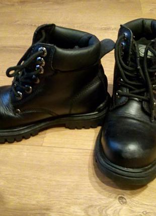 Ботинки кожаные, берцы contractor