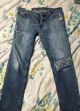 Крутые джинсы hollister оригинал