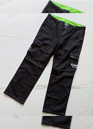 Мужские, оригинальные штаны kawasaki dorna 2002