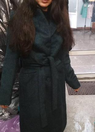 Зимнее пальто из длинноворсовой шерсти grislav