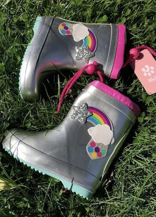 Резинові чобітки для справжніх принцес від bi&ki😍👸🏼🧚🏼♀️🌈
