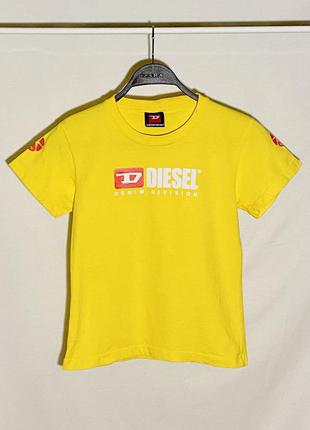 Diesel футболка с логотипом оригинал