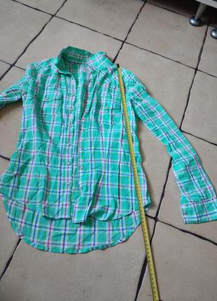 Рубашка в клетку, сорочка