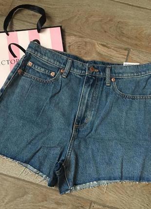 Джинсовые шорты victoria's secret pink