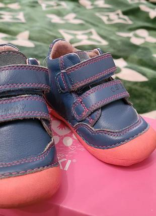 Деми ботинки кожа
