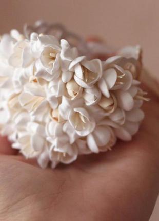 Свадебный браслет для невесты ручной работы4 фото