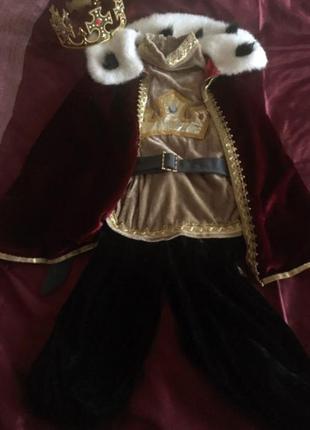 Карнавальный костюм принца короля