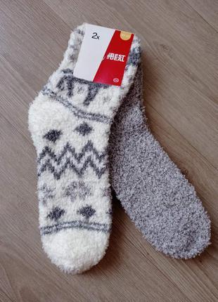 Носки женские теплые травка c&a р.35-38, 39-42