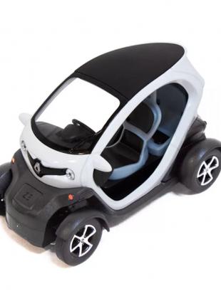 Колекційна іграшкова машинка renault twizy кт5111 інерційна