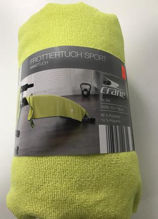 Набор полотенец с микрофибры для спорта crane