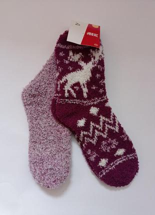 Носки женские теплые травка c&a р.39-42