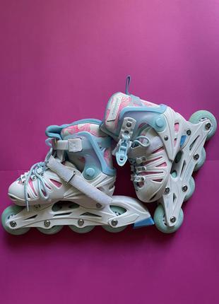 Роликовые коньки для девочки galaxy girl