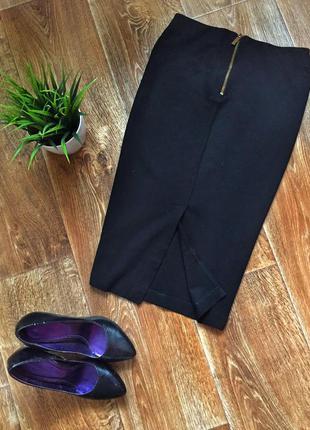 Классная юбка карандаш длины миди от h&m