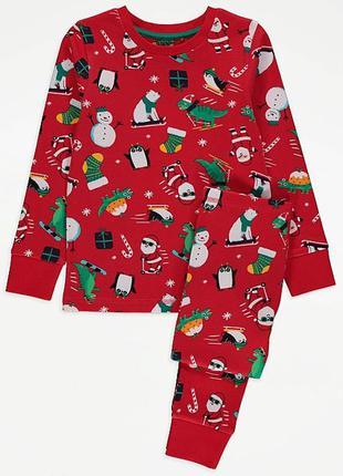 Новогодняя пижама george