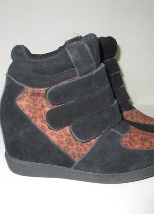 Фирменные ботинки сникерсы san marina европа оригинал