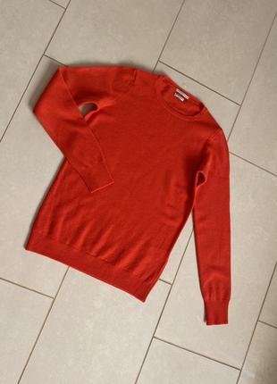 Пуловер шерстяной размер s/m