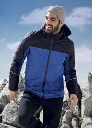 Мужская всепогодная термо куртка 3 в 1 crivit размер 48-50