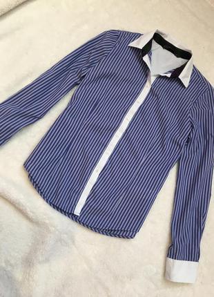 Рубашка в полоску zara
