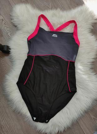 Женский спортивный сдельный купальник для плавания бассейна slazenger
