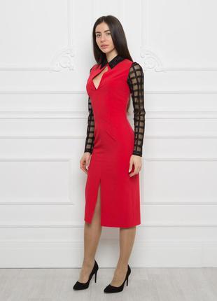 Изумительное красное платье!tm dark