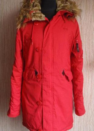 Парка alpha industries n-3b куртка
