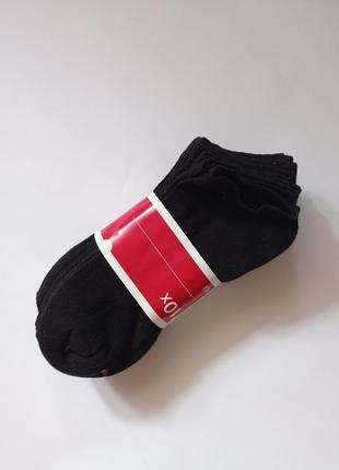 Носки короткие черные c&a р.39-42, 10 пар