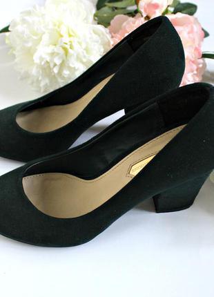 Классические, замшевые туфли